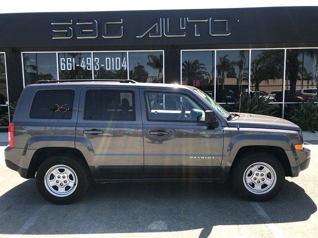 2016 Jeep Patriot Sport 2WD CVT