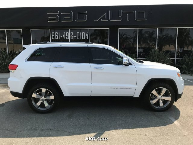 2015 Jeep Grand Cherokee Limited 2WD 8-Speed Automatic