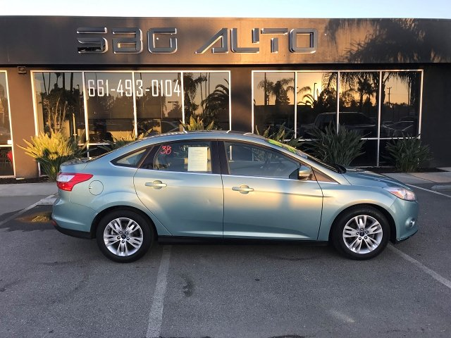 2012 Ford Focus SEL Sedan 6-Speed Automatic