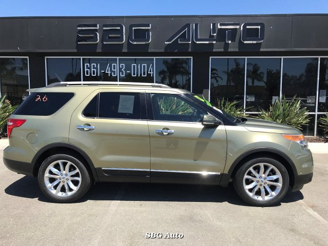 2012 Ford Explorer Limited FWD 6-Speed Automatic