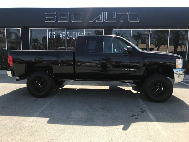 2012 Chevrolet Silverado 1500 LT Ext. Cab 2WD 4-Speed Automatic