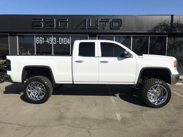 2015 GMC Sierra 1500 SLT Double Cab 4WD 6-Speed Automatic