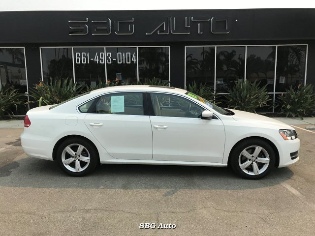 2013 Volkswagen Passat 2.5L SE AT 6-Speed Automatic