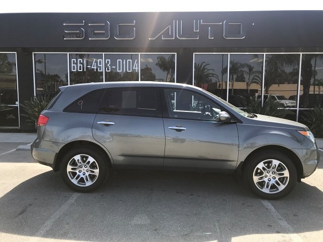 2009 Acura MDX Tech Package and Entertainment Package 5-Speed Automatic