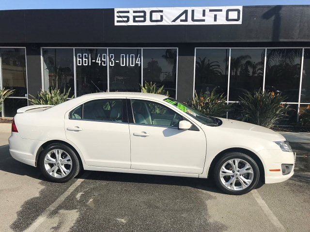 2012 Ford Fusion SE 5-Speed Automatic