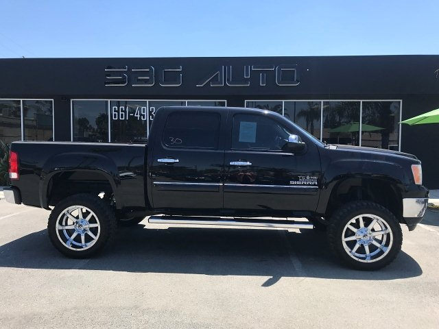 2013 GMC Sierra 1500 SLE Crew Cab 2WD 6-Speed Automatic