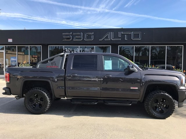 2016 GMC Sierra 1500 SLT Crew Cab Short Box 4WD 6-Speed Automatic