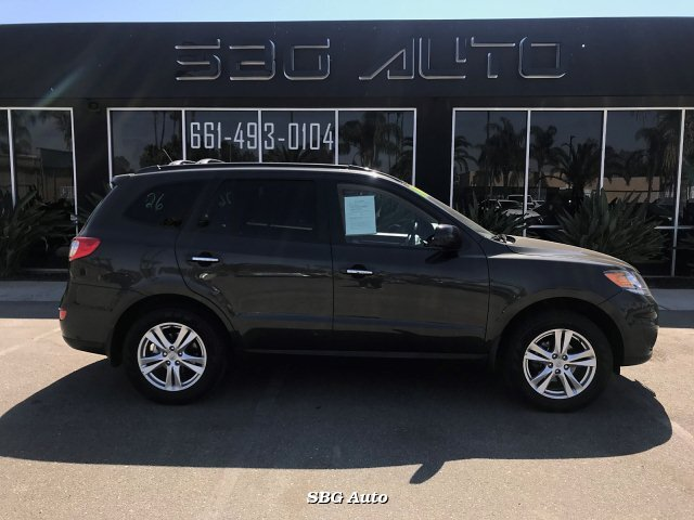 2012 Hyundai Santa Fe Limited 3.5 FWD 6-Speed Automatic