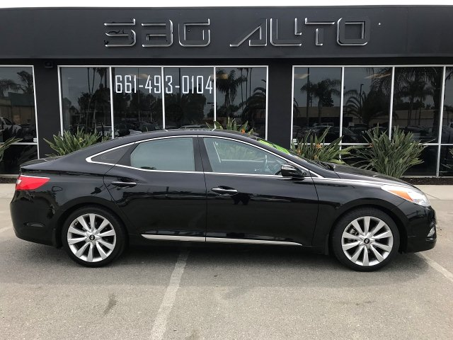 2014 Hyundai Azera Limited 6-Speed Automatic