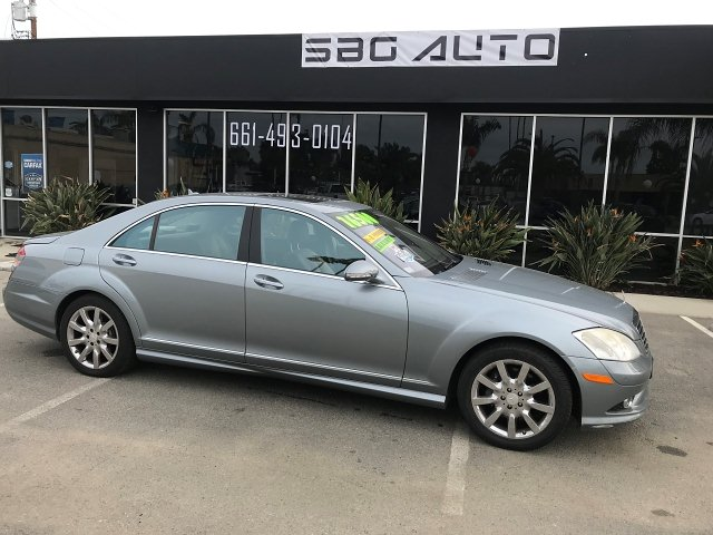2008 Mercedes Benz S-Class S550 7-Speed Automatic